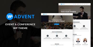 قالب WPadvent - قالب وردپرس رویداد و کنفرانس