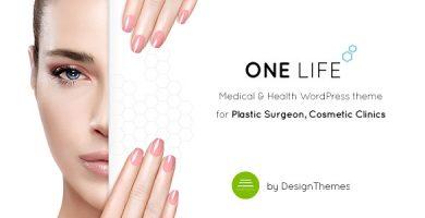 قالب OneLife Medical - قالب وردپرس سایت پزشکی و سلامتی