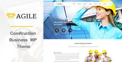 Agile - قالب وردپرس ساخت و ساز ساختمان