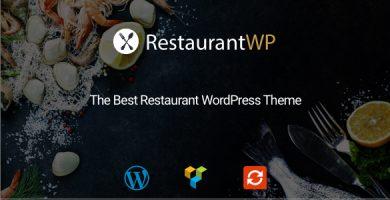 قالب Restaurant WP - قالب وردپرس رستوران