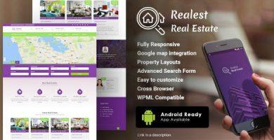 Realest - قالب وردپرس املاک