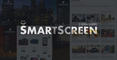قالب SmartScreen - قالب وردپرس تمام صفحه