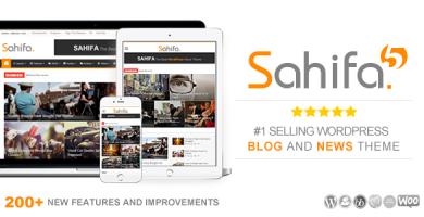 صحیفه | Sahifa - قالب وردپرس خبری