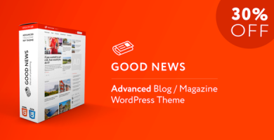 قالب GoodNews - قالب وردپرس وبلاگ و مجله