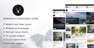 قالب Vaga - قالب مجله و وبلاگ وردپرس