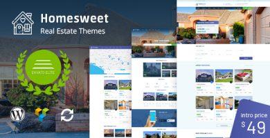 هوم اسوییت | HomeSweet - قالب وردپرس املاک