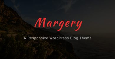 قالب Margery - قالب وبلاگ وردپرس