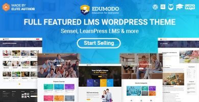 Edumodo - قالب وردپرس آموزشی