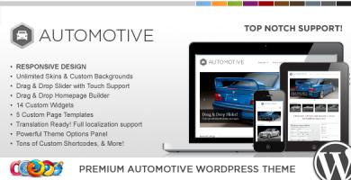 WP Pro Automotive - قالب وردپرس ریسپانسیو