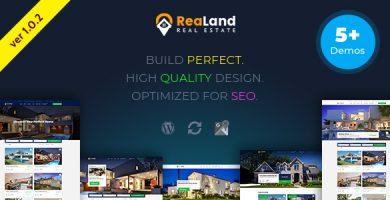 ReaLand - قالب وردپرس املاک