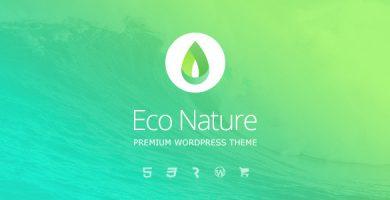 Eco Nature - قالب وردپرس محیط زیست
