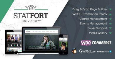 قالب Statfort - قالب وردپرس آموزش