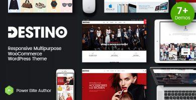 قالب دستینو | Destino - قالب وردپرس فروشگاهی