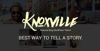 قالب Knoxville - قالب وبلاگ وردپرس ریسپانسیو