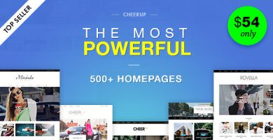 قالب CheerUp Blog / Magazine - قالب وبلاگ وردپرس