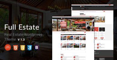 Full Estate - قالب املاک برای وردپرس