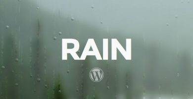 قالب RAIN - قالب وردپرس ریسپانسیو