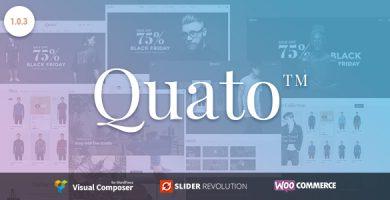 قالب Quato - قالب وردپرس فروشگاهی