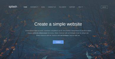 قالب Splash - قالب وردپرس کسب و کار