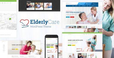 قالب Elderly Care - قالب وردپرس پزشکی، بهداشتی و مراقبت از سالمندان