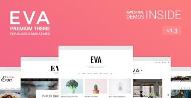 قالب Eva - قالب وردپرس بلاگ و مجله ویژه