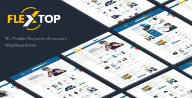 قالب Flextop - قالب وردپرس دیجیتال