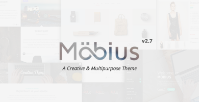 قالب Mobius - قالب وردپرس چند منظوره ریسپانسیو
