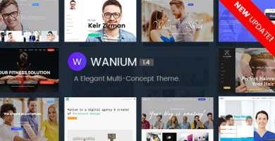 وانیوم | Wanium - قالب وردپرس چند منظوره