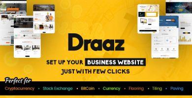قالب Draaz - قالب وردپرس کسب و کار چند منظوره