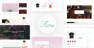 قالب Blog Fiore - قالب وردپرس سایت شخصی و خبری