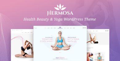قالب Hermosa - قالب وردپرس سلامتی و زیبایی و یوگا