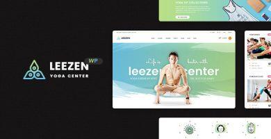 قالب Leezen - قالب وردپرس یوگا و سلامتی