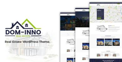 قالب Dominno - قالب وردپرس املاک