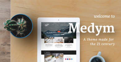 قالب Medym - قالب وردپرس مدرن