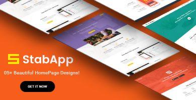 قالب StabApp - قالب وردپرس فروشگاه نرم افزار موبایل