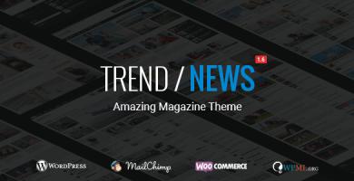 Trend / News - قالب مجله ریسپانسیو