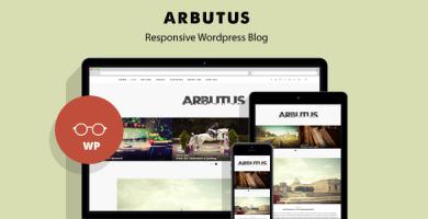 قالب Arbutus - قالب وبلاگ وردپرس ریسپانسیو