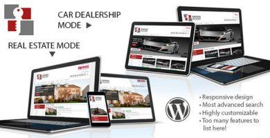 قالب OpenDoor - قالب سایت املاک و نمایشگاه اتومبیل