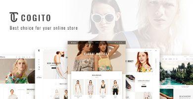 Cogito - قالب فروشگاهی ساده