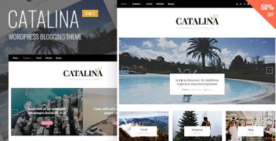 قالب Catalina - قالب وردپرس وبلاگی