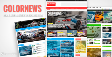 قالب ColorNews - قالب وردپرس خبری و مجله