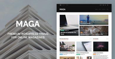 قالب Maga - قالب وردپرس مجله نقد و بررسی