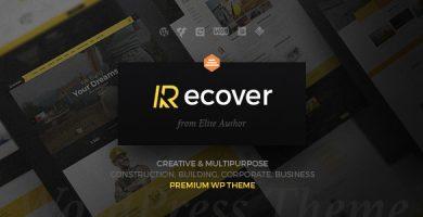 قالب ریکاور | Recover - قالب وردپرس ساخت و ساز چند منظوره