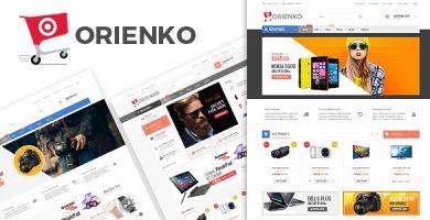 اورینکو | Orienko - قالب فروشگاهی وردپرس
