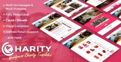 قالب Charity - قالب وردپرس ریسپانسیو
