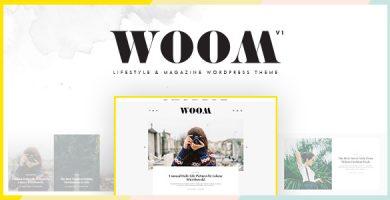 قالب Woom - قالب وردپرس سبک زندگی و مجله