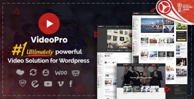 قالب VideoPro - قالب ویدئو وردپرس