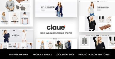 قالب کلاوی | Claue - قالب فروشگاهی حرفه ای وردپرس