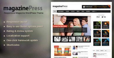 قالب MagazinePress - قالب مجله وردپرس
