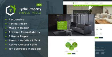 قالب Tyche Properties - قالب وردپرس تک ملکی